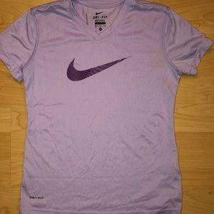 Nike girls exercise shirt